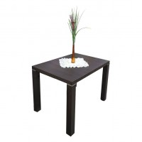 Обеденный стол 107х79 см, высота ножек 80 см